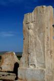 Remainder of Cyrus's palace - Een restant van het paleis van Cyrus.