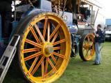 Closeup Wheel On 'Banshee'