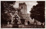 Eastchurch church Valentine