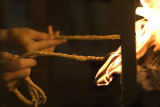 burning rope