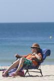 Enjoying the beach in Lagos, Algarve