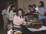 Food Line at the Russian White Night Celebration at ISU 2007 _DSC0088.JPG