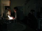 Optometrist Dr Flandro at Work smallfile P1010049.jpg
