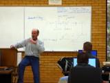 Dr Ken Bosworth teaching Computer Science at Idaho State University P1010155.JPG