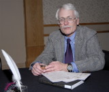 Prof. of History Jack Owens with a Book He Authored_DSC0528.JPG