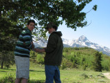 Skylar and Ryan Sack Figuring Out Directions on a Hike in the Tetons IMG_0173.jpg