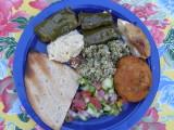 Food at Susannes Birthday P8110125.jpg