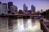 Melbourne in the Evening
