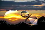 crystal sunset ~