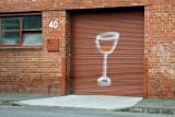 Wine Glass Door