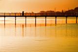 Lakes Entrance Bridge Sunset