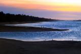 Beach Silhoulette