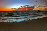 Morton Island Sunset