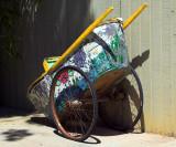 rickshaw decorated