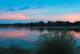 Lakescape sunset