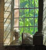 Sculptures in the window ~