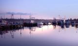 Still Lake at dawn *