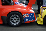 flag on fender