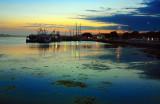 Lakes Entrance habor Sunset