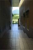 Hallways of Domaine Chandon