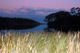 Lake Tyers Autumn evening