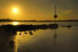 Golden light on the Lake