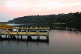 jetties on the lake