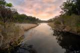Lake Tyers sunset ~