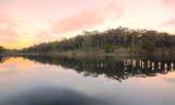 Lake Tyers evening reflections