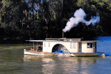 Paddle steamer on the murray