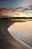 lake sunset ~