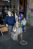 Busker & musical contraption ~