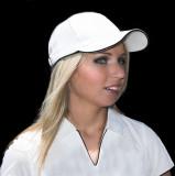 Beauty in a white cap