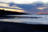 Stormy Lake sunset