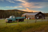 Old pickup and barn ~