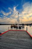 Red edged wharf