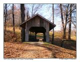 St. Clairsville Golf Course Covered Bridge