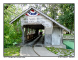 Antique Cars Covered Bridge
