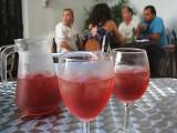 sangria, restaurant Rosa de Triana