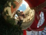 reflection, Plaza de Armas