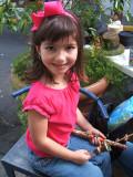 girl with kabab, Calle de Tetuan