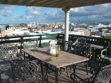 The Wine Deck or rooftop terrace, the Gallery Inn