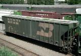 BN 461603, FMC 4700 Cubic Foot Covered Hopper