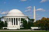 Jefferson Memorial from 14th St bridge