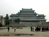 Pyongyang - Kim Il-Sung Square
