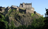 Edinburgh Castle, Panorama
