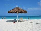 Always a spot to rest on Eagle Beach, Aruba