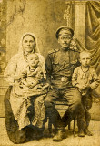 Soldier and Family