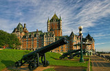 Chateau Frontenac and Cannons