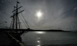 Tall Ship Silhouette